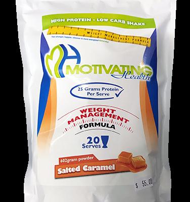Salted Caramel Protein Shake