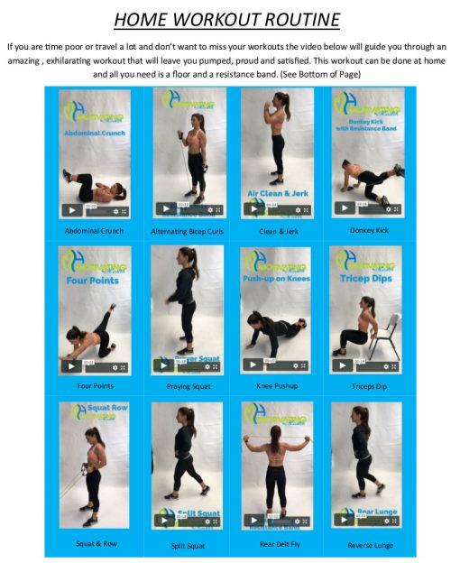 Abbeys Home workout